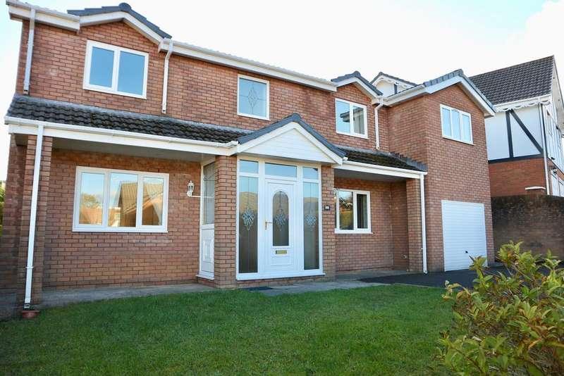 5 Bedrooms Detached House for sale in Winchfawr Park, Heolgerrig, Merthyr Tydfil