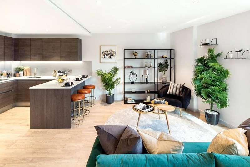 2 Bedrooms Apartment Flat for sale in Onyx Apartments, Camley Street, King's Cross, London, N1C