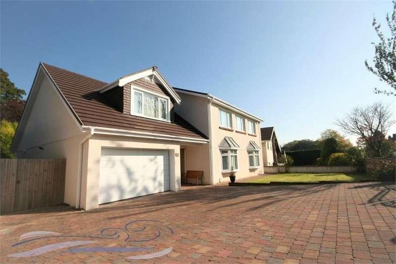 4 Bedrooms Detached House for sale in Derwen Fawr Road, Sketty, SWANSEA