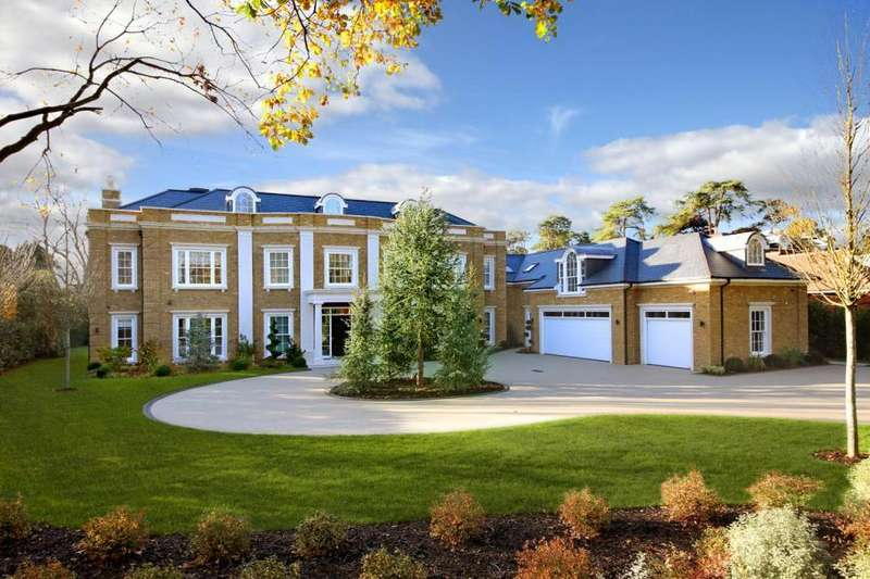 8 Bedrooms Detached House for sale in Wentworth Estate, Virginia Water