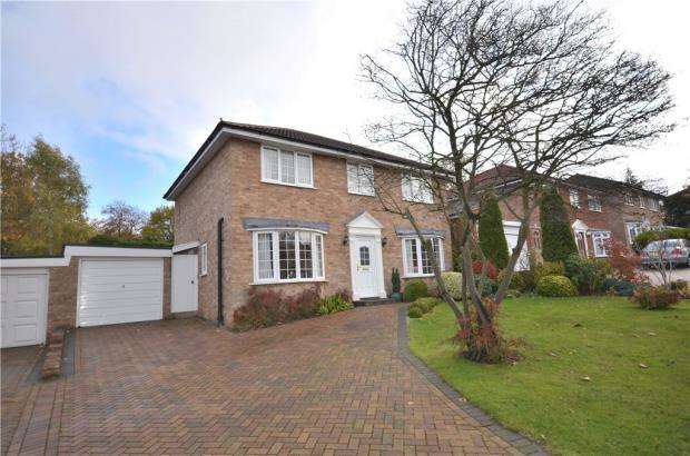 4 Bedrooms Detached House for sale in Lynwood Chase, Bracknell, Berkshire
