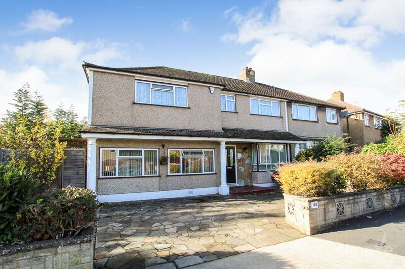 4 Bedrooms Semi Detached House for sale in Dickens Avenue, Hillingdon, UB8