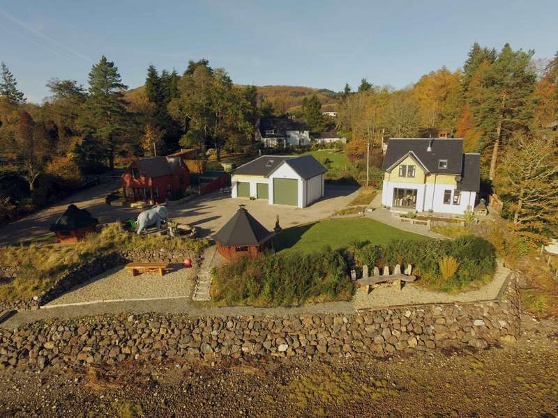 3 Bedrooms Detached House for sale in Canna & Creebeag, North Connel, Oban, Argyll and Bute, PA37