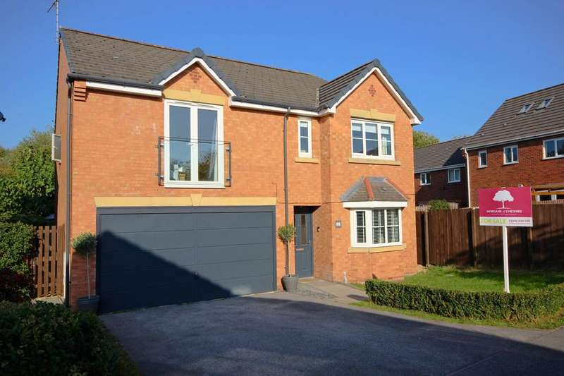 4 Bedrooms Detached House for sale in Thrush Way, Winsford, Cheshire, CW7
