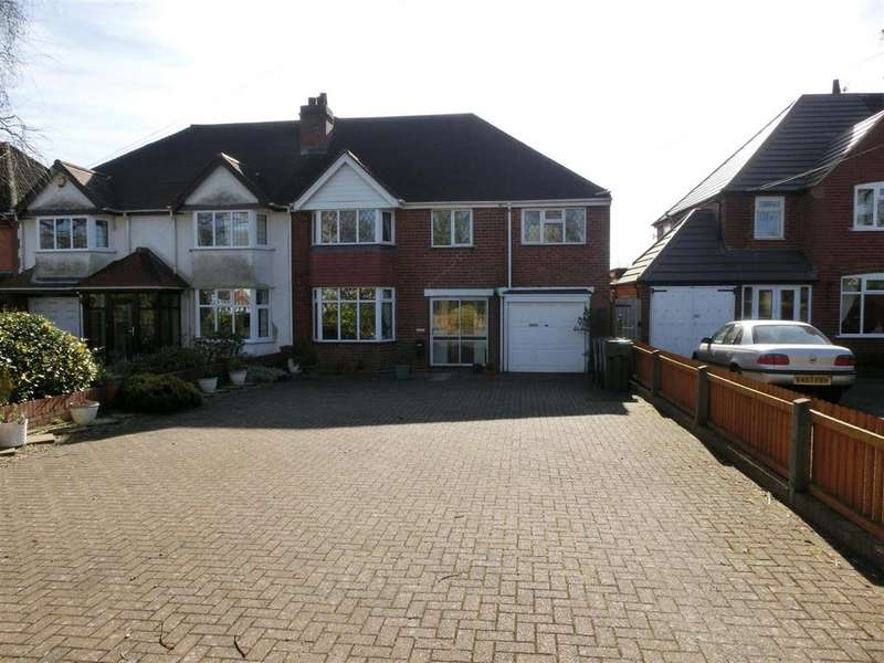 5 Bedrooms Semi Detached House for sale in Station Road, Wythall, Birmingham