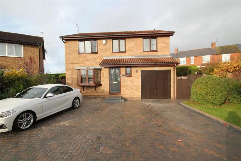 4 Bedrooms Detached House for sale in Beechburn Park, Crook