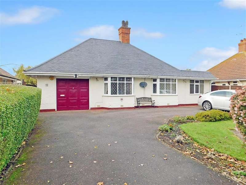 4 Bedrooms Detached Bungalow for sale in Burgh Old Road, Skegness, Lincs, PE25 2LH