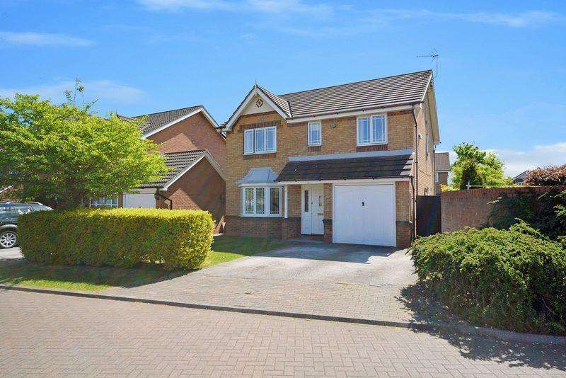 4 Bedrooms Detached House for sale in Malmesbury Park, Sandymoor
