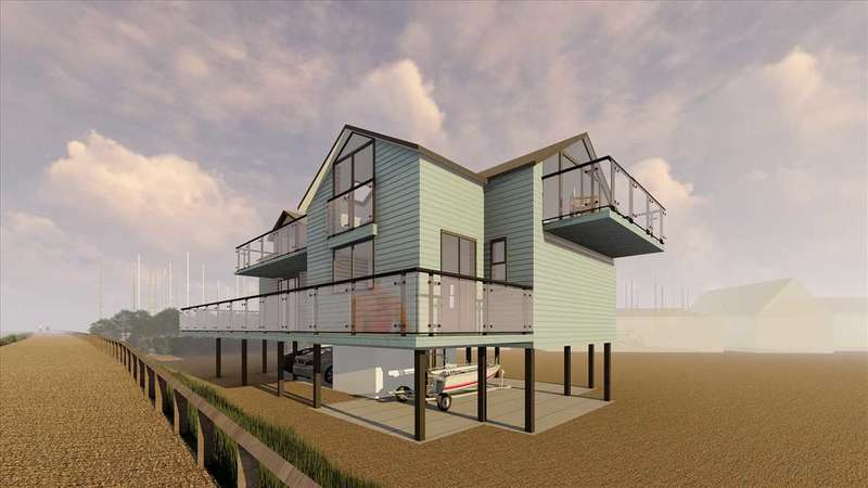 3 Bedrooms House for sale in Spindrift, The Ferry, Old Felixstowe