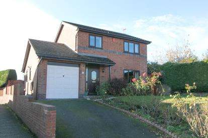 3 Bedrooms Detached House for sale in Cae'r Llan, Ruabon, Wrexham, Wrecsam, LL14