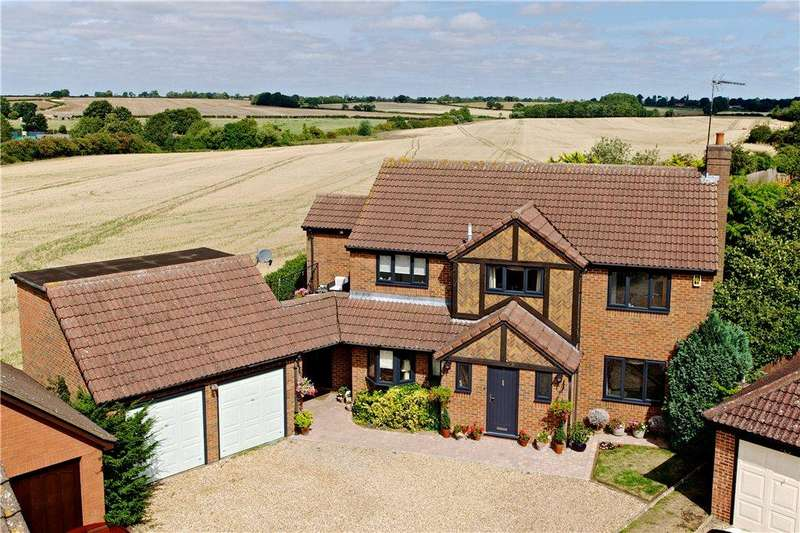 4 Bedrooms Detached House for sale in Homestead Close, Moulton, Northamptonshire