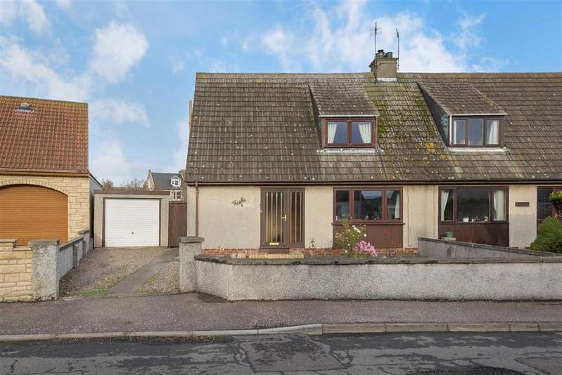 2 Bedrooms Semi Detached House for sale in Queen Elizabeth Road, Pittenweem, Fife