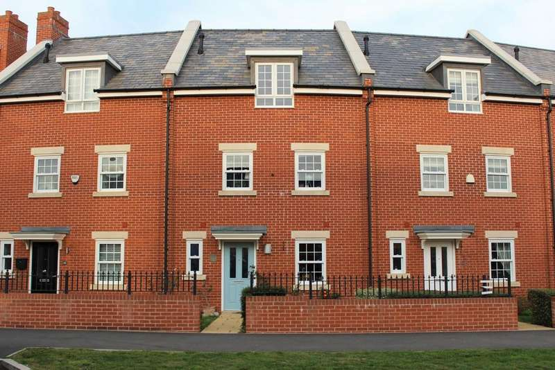 4 Bedrooms Terraced House for sale in Planets Way, Biggleswade, SG18
