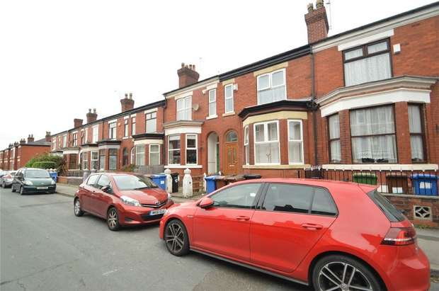 3 Bedrooms Terraced House for sale in Wellington Grove, Shaw Heath, Stockport, Cheshire