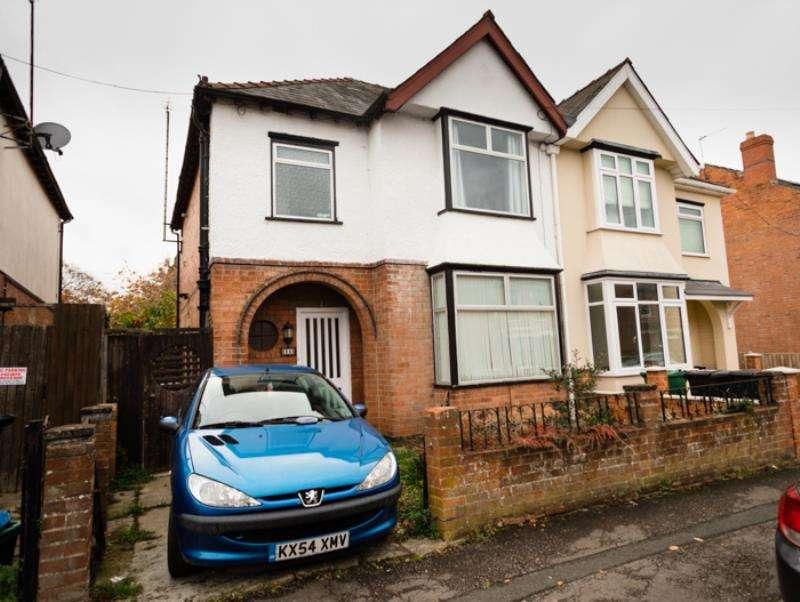 4 Bedrooms Semi Detached House for rent in Deans Way, Kingsholm, Gloucester, GL1 2QD