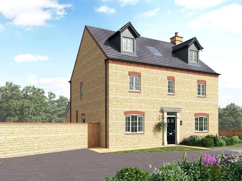 5 Bedrooms Detached House for sale in St George's Field, Wootton, Northampton, NN4