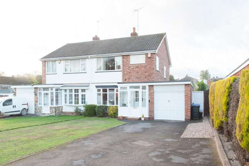 3 Bedrooms Semi Detached House for sale in Ingestre Drive, Great Barr
