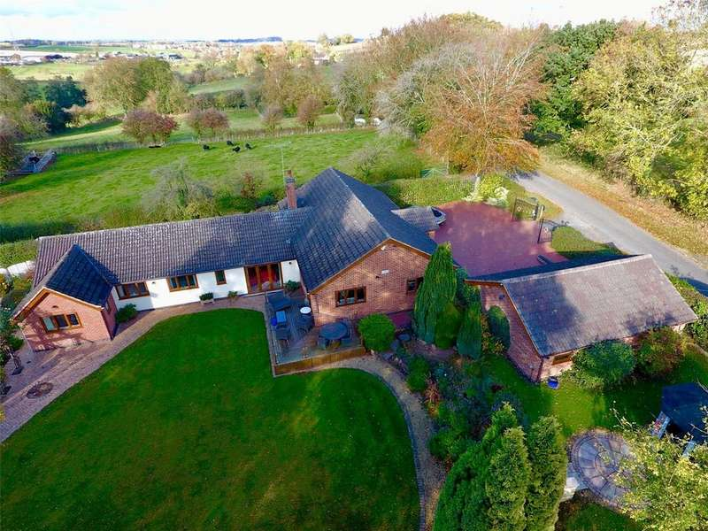 4 Bedrooms Detached Bungalow for sale in Lower Brand, Griffydam, Coalville