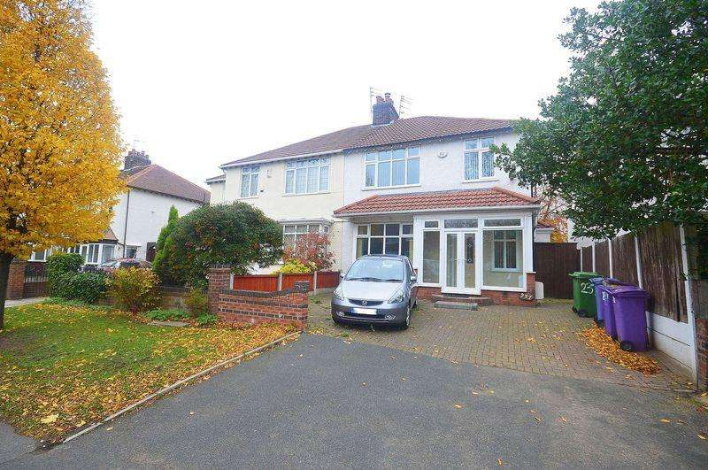 4 Bedrooms Semi Detached House for sale in Woolton Road, Childwall