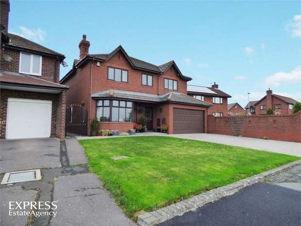 4 Bedrooms Detached House for sale in Tannery Lane, Penketh, Warrington, Cheshire