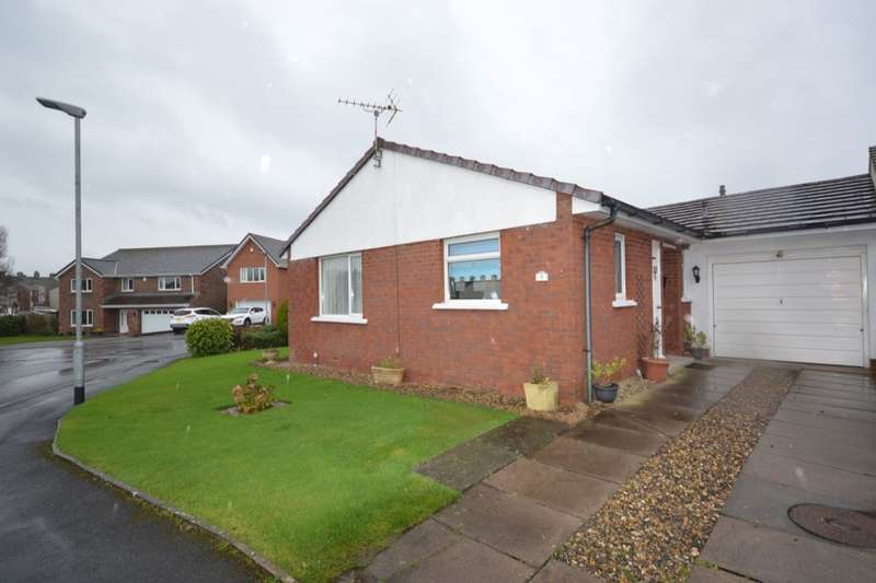 2 Bedrooms Detached Bungalow for sale in Kestrel Grove, Moresby Parks, Whitehaven, CA28
