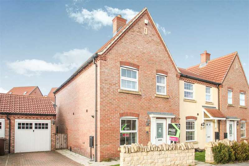 4 Bedrooms End Of Terrace House for sale in Bobbin Lane, Lincoln