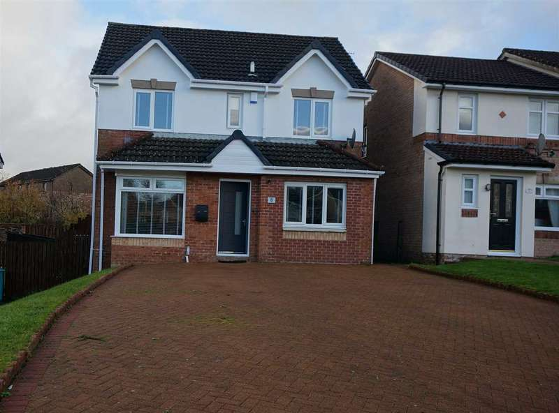 5 Bedrooms Detached House for sale in Wellesley Place, Cumbernauld