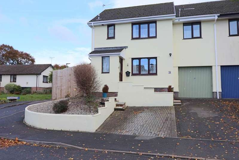 4 Bedrooms Semi Detached House for sale in Whiddon Valley, Barnstaple