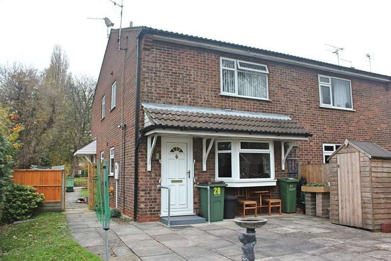 1 Bedroom Town House for sale in Penney Close, Wigston, Leicester