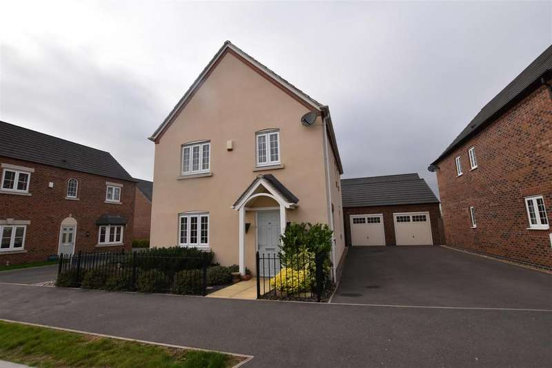 4 Bedrooms Detached House for sale in Southfield Avenue, Sileby, Loughborough