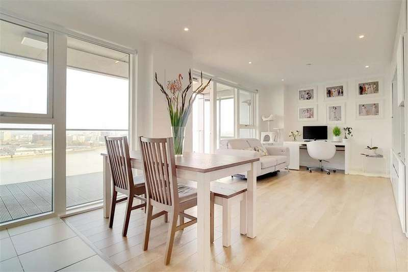 2 Bedrooms Flat for sale in Bessemer Place, Greenwich, London, SE10