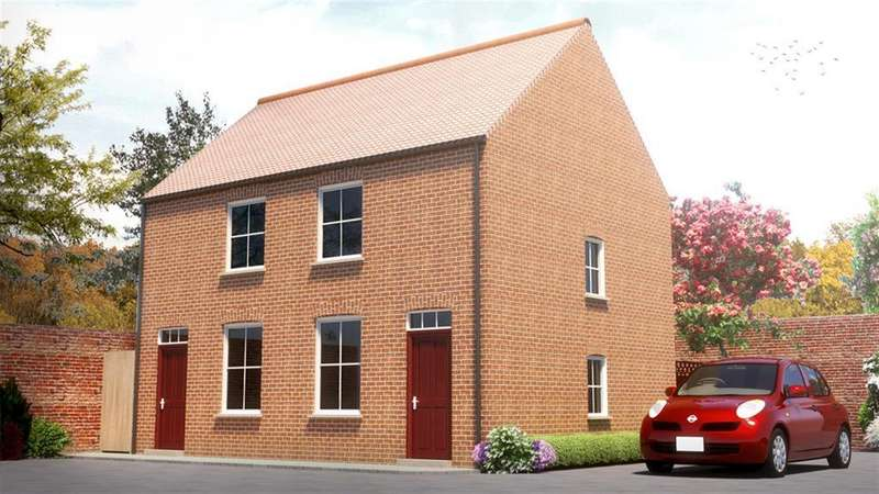 2 Bedrooms End Of Terrace House for sale in The Orchard, Thames Street, Louth