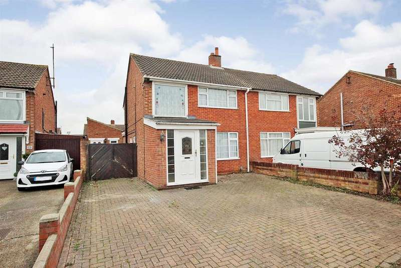 3 Bedrooms Semi Detached House for sale in Gilwell Close, Bedford
