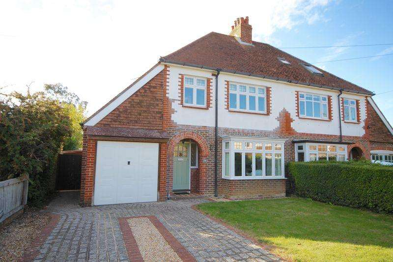 3 Bedrooms Semi Detached House for sale in Kings Road, Emsworth, Hampshire, PO10 7HN