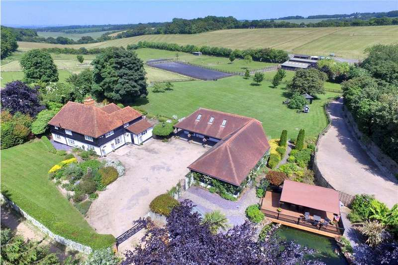 4 Bedrooms Equestrian Facility Character Property for sale in Shipley Hills Road, Meopham, Gravesend, Kent, DA13