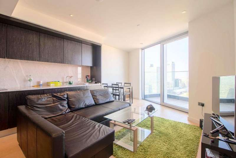 2 Bedrooms Apartment Flat for sale in Charrington Tower, Biscayne Ave, E14