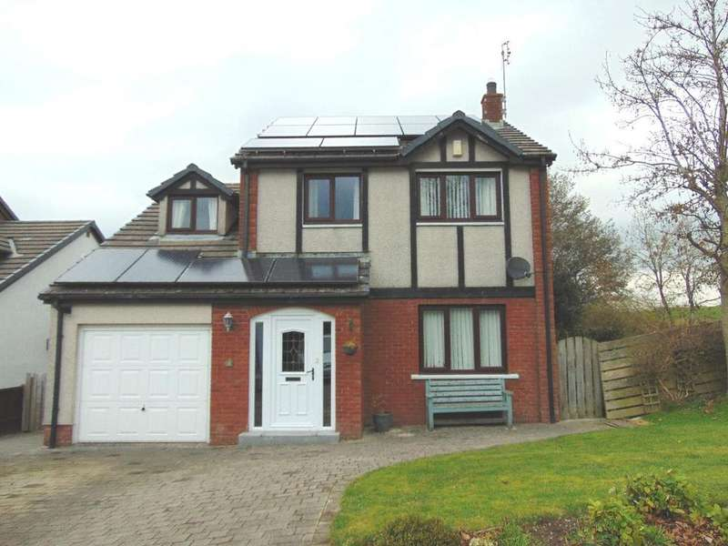 4 Bedrooms Detached House for sale in 5 Coniston Drive, Cockermouth, Cumbria, CA13 9JA
