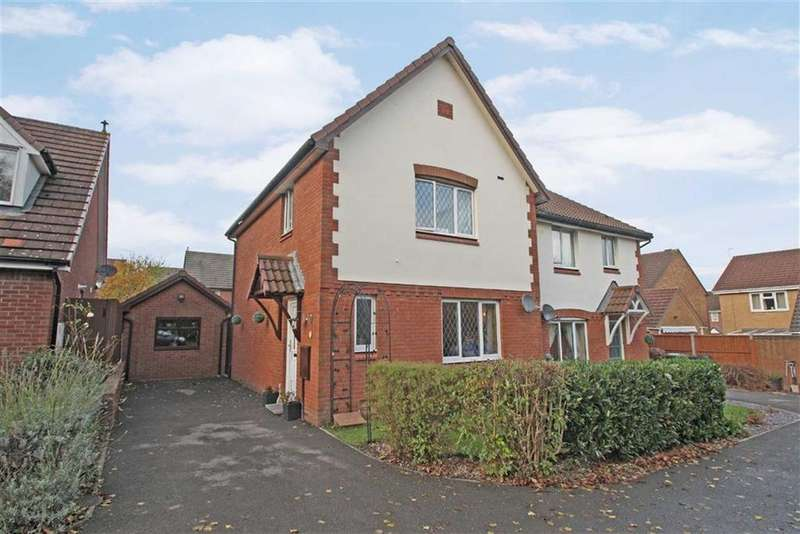 3 Bedrooms Semi Detached House for sale in Stoneleigh Drive, Belmont, Belmont Hereford, Hereford
