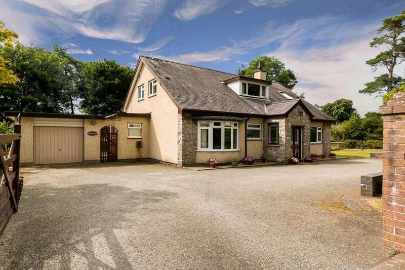 4 Bedrooms Detached Bungalow for sale in Talwrn, Llangefni, North Wales
