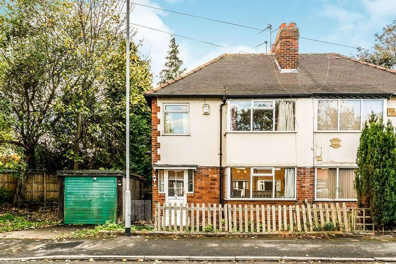 2 Bedrooms Semi Detached House for sale in St. Annes Drive, Leeds, LS4