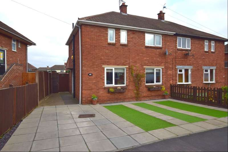 3 Bedrooms Semi Detached House for sale in Bramley Road, Birstall, Leicester, LE4