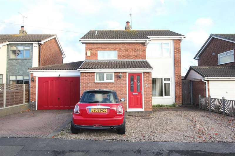 3 Bedrooms Detached House for sale in Linwood Close, Hinckley