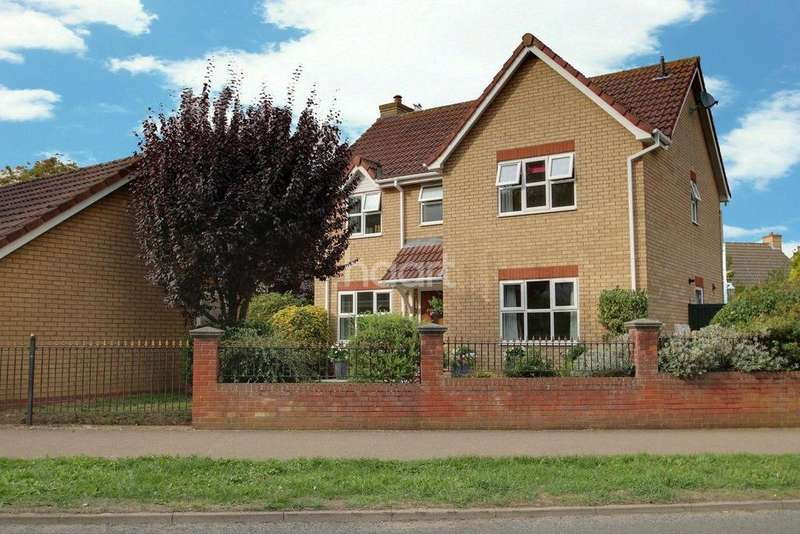 4 Bedrooms Detached House for sale in Winsford Road, Bury St Edmunds