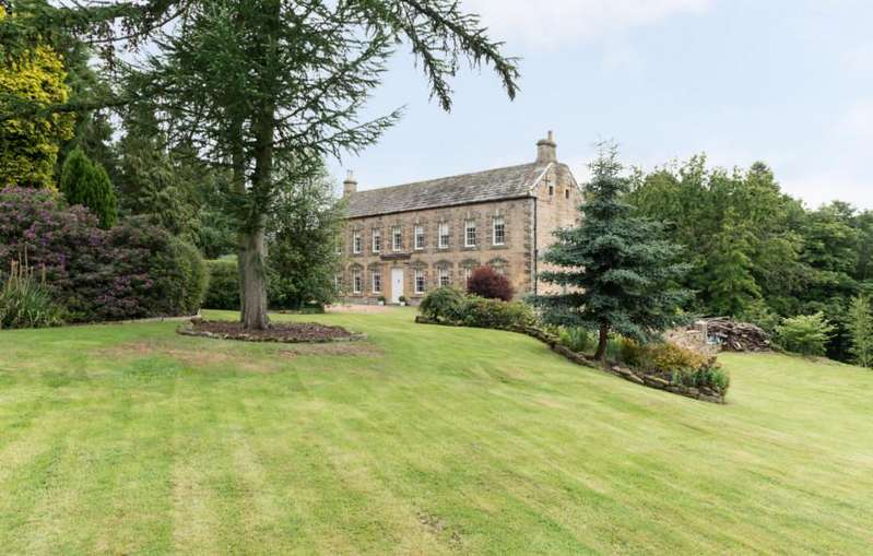 6 Bedrooms Stately Home Character Property for sale in Newmoor Hall, Longframlington, Northumberland NE65