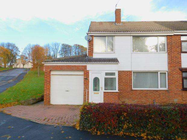 3 Bedrooms Semi Detached House for sale in EASTDENE WAY, PETERLEE, PETERLEE