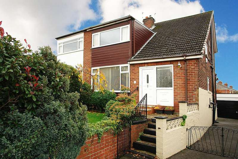 3 Bedrooms Semi Detached House for sale in New Barn Close, Shaw