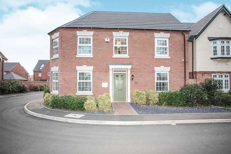 4 Bedrooms Detached House for sale in Meulan Lane, Nuneaton, CV10