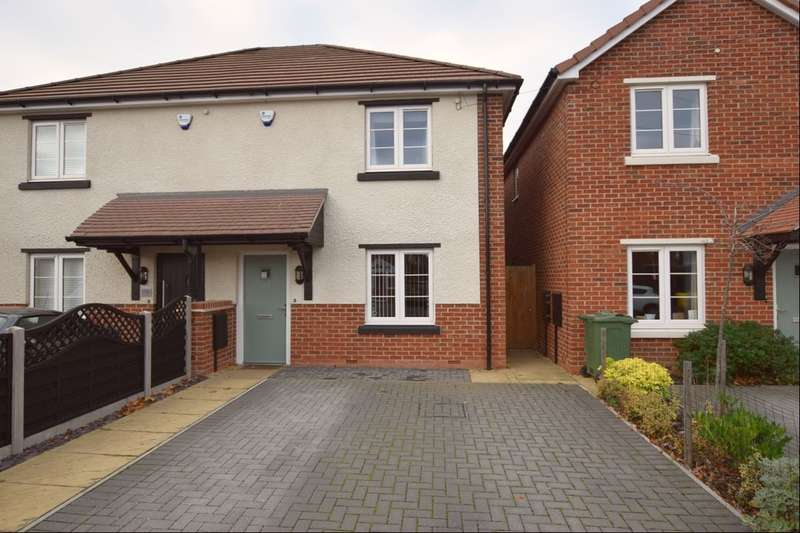 3 Bedrooms Semi Detached House for sale in Stonehill Avenue, Birstall, Leicester, LE4