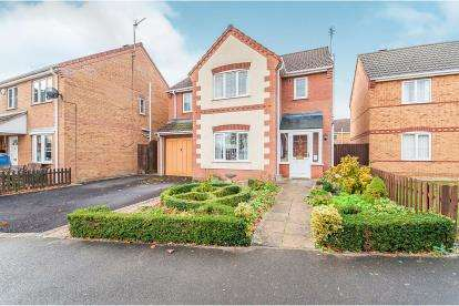4 Bedrooms Detached House for sale in Hemington Way, Kirton, Boston, Lincolnshire