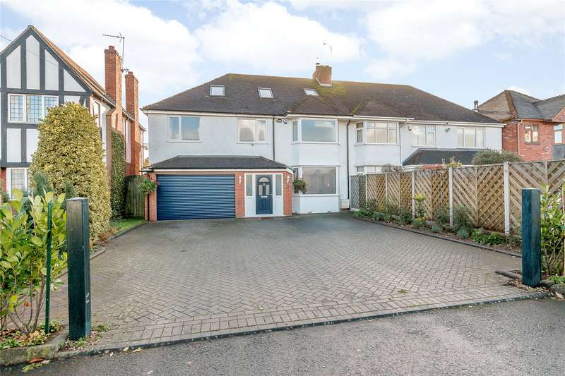 5 Bedrooms Semi Detached House for sale in 6 Worcester Road, Mustow Green, Kidderminster, DY10
